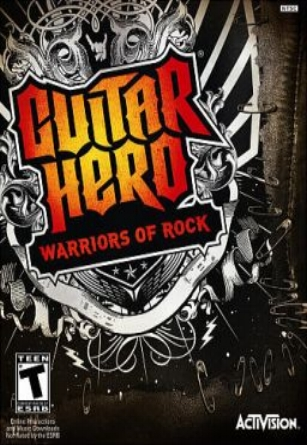 2010 Guitar Hero - Warriors of Rock Black Rain