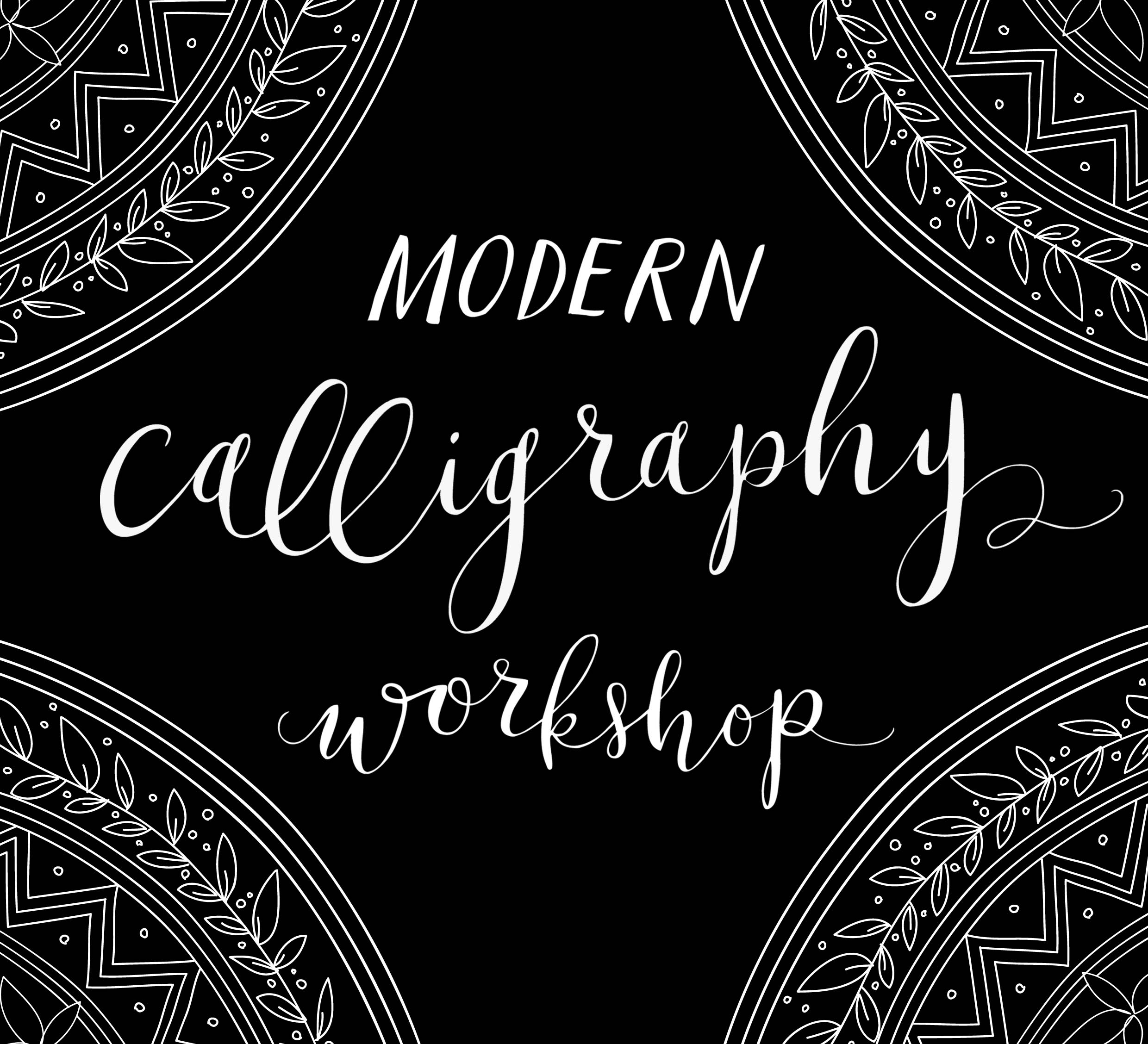 Lamplighter London Modern Calligraphy Classes