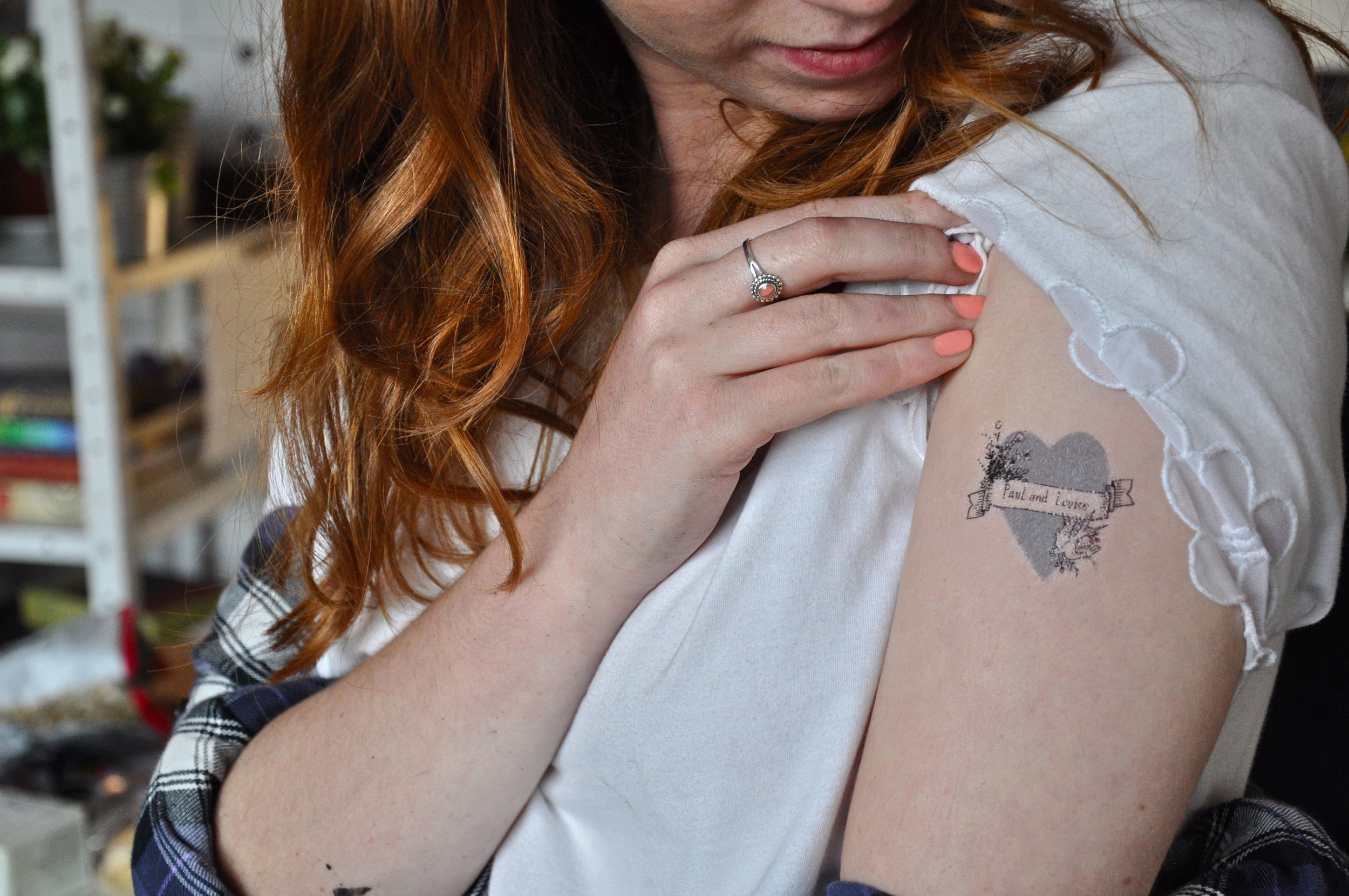 Lamplighter London Save the Date Temporary Tattoos