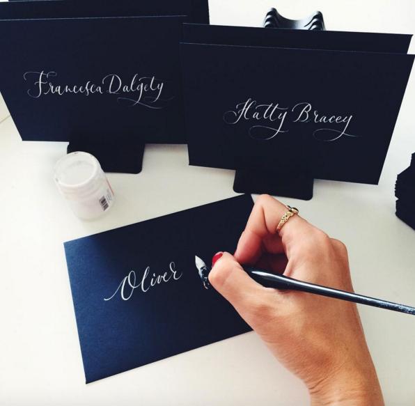 Lamplighter London Modern Calligraphy Studio