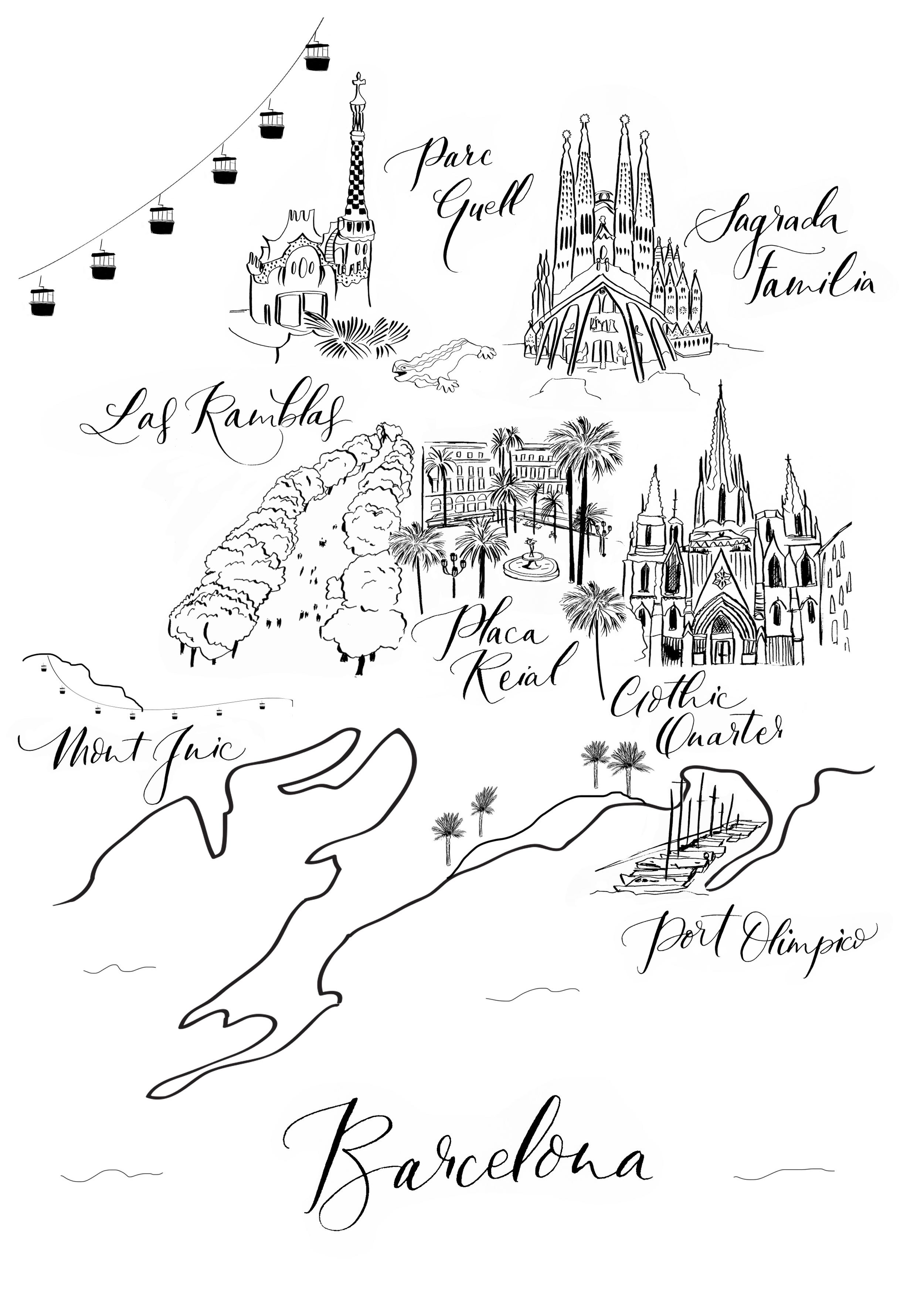 Lamplighter London Illustration