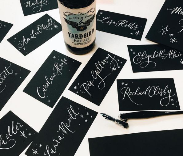 Lamplighter London Modern Calligraphy
