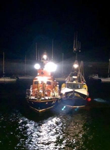 (Photo courtesy of Dunbar Coastguard)