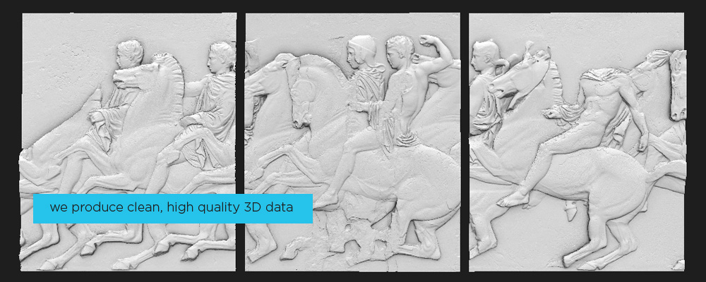 3D scan of museum objects