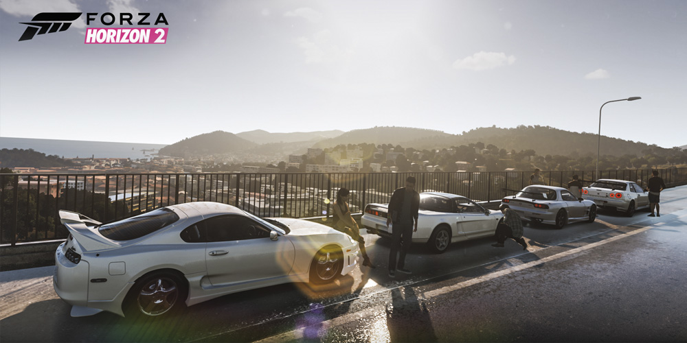 3D scanned characters for Forza Horizon 2