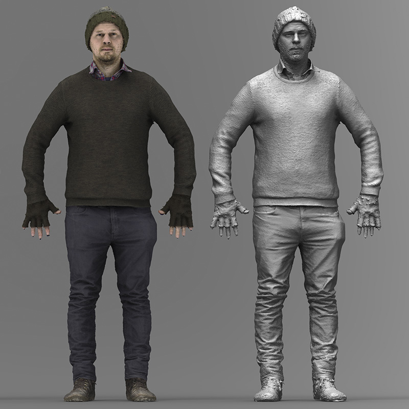 Body 3D scan demo download