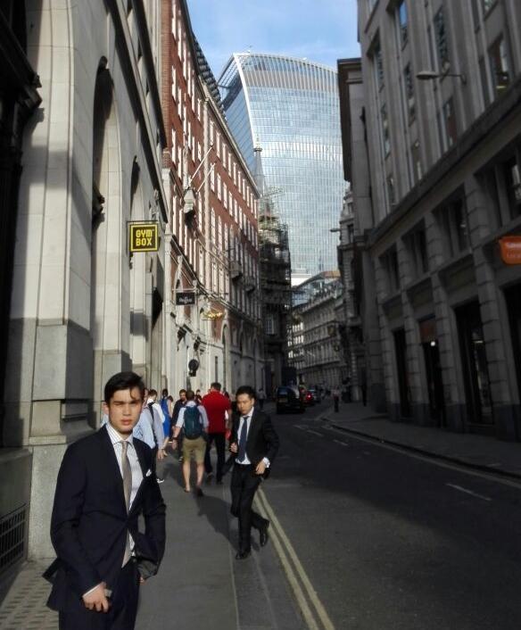 Stefan in London.