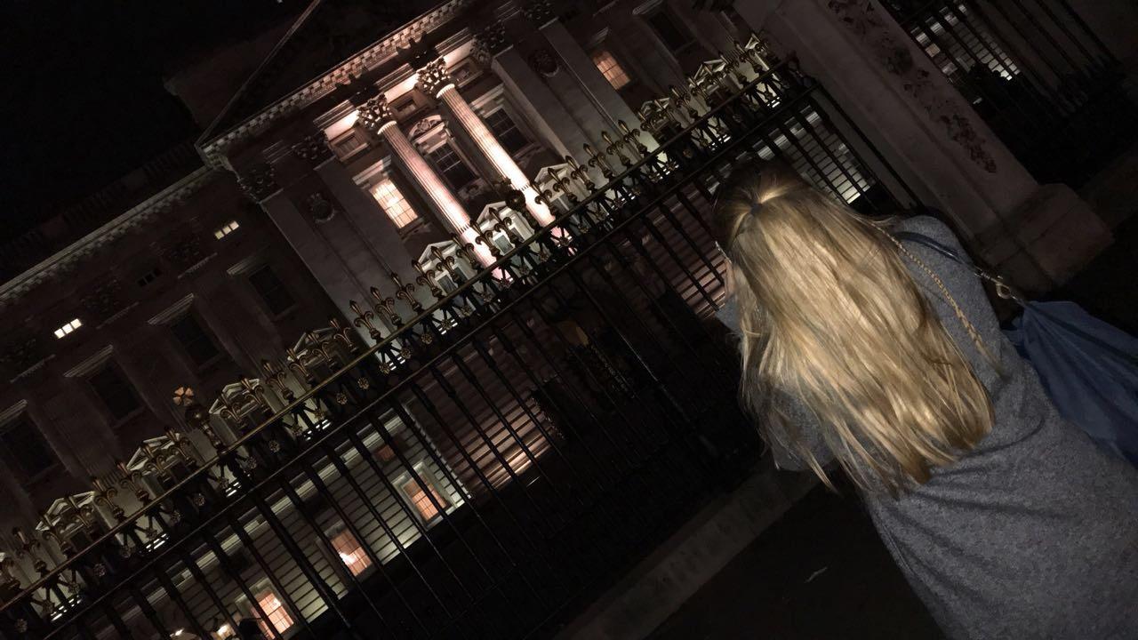 Jana Louisa in London.
