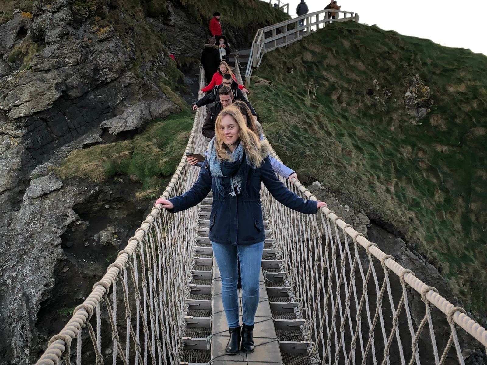 Giant Causeway, Carrick-a-Rede Rope Bridge