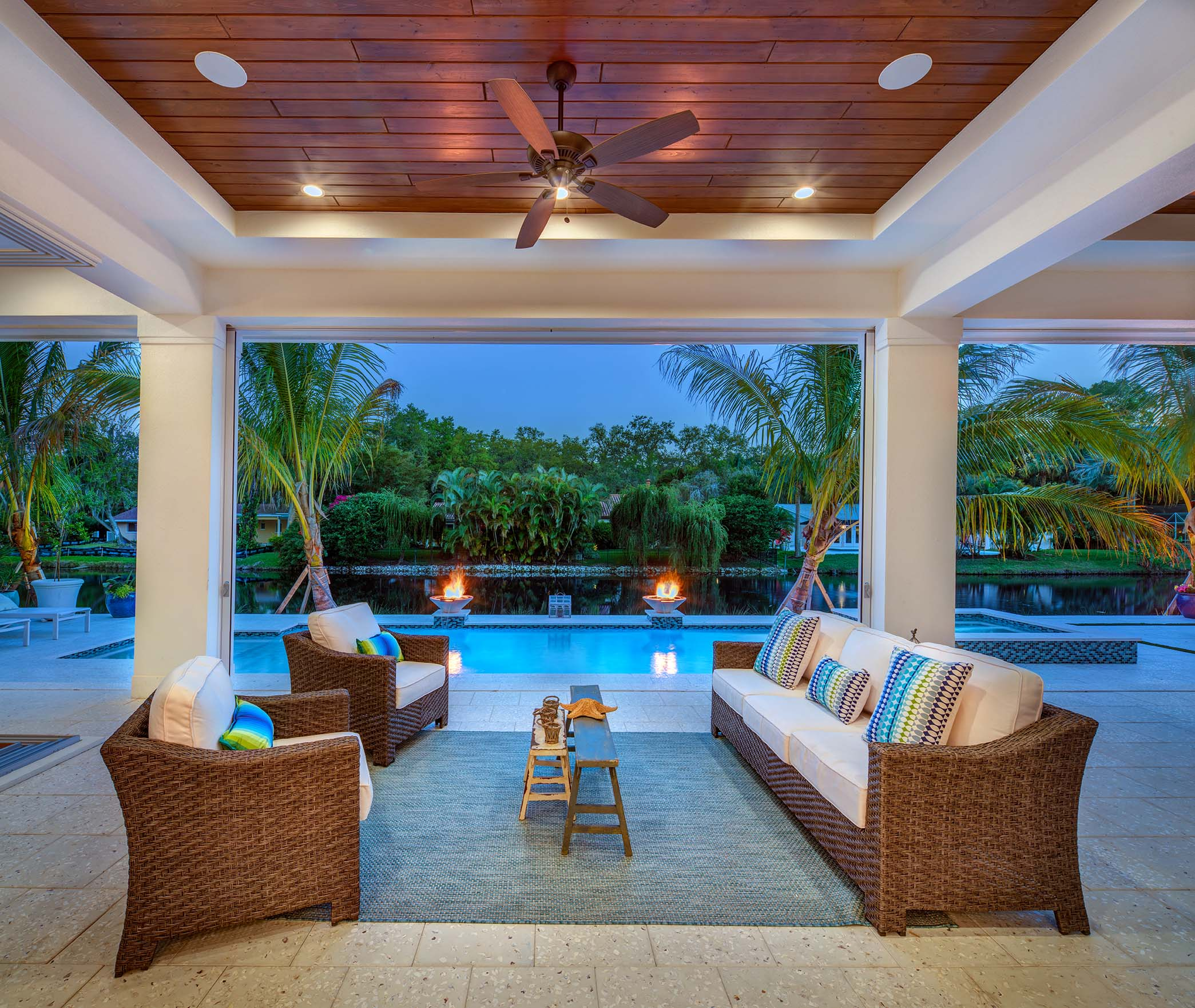 Sarasota Custom Builder Outdoor Living