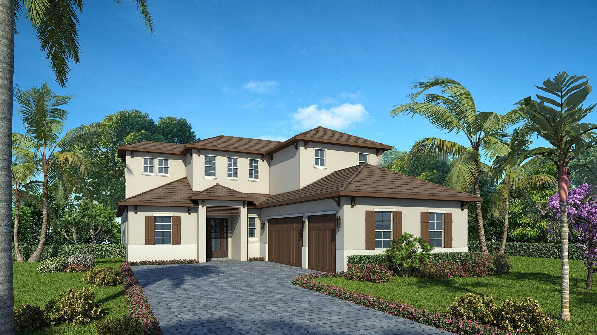 The Bermuda | 1614 Bay Road, Sarasota, FL 34231 $1,399,000 | 4 Bedrooms | 3 Full Bathrooms | 1 Half Bathroom | Study | Bonus Room | Pool and Spa