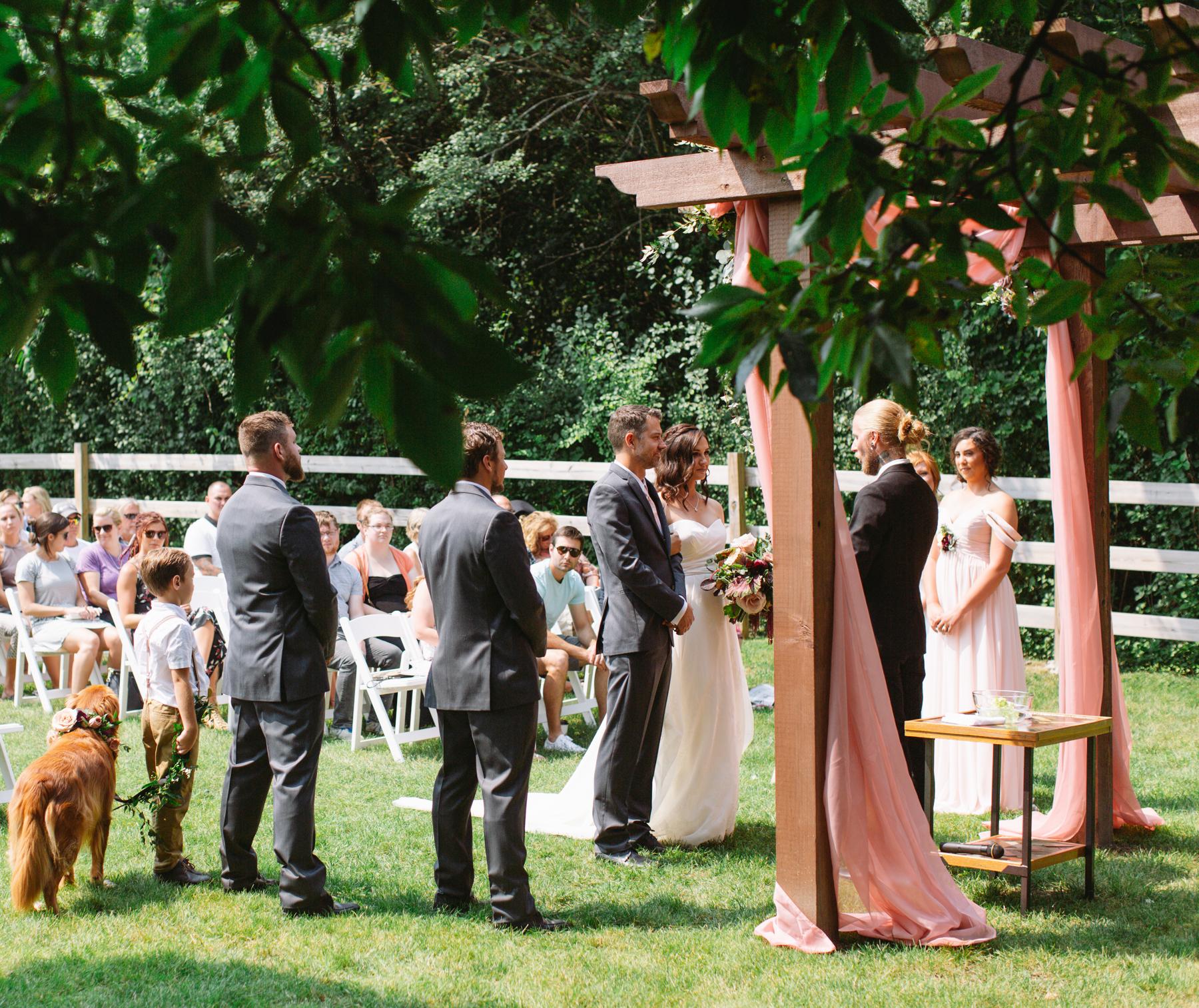 May - October - Peak Season Weddings
