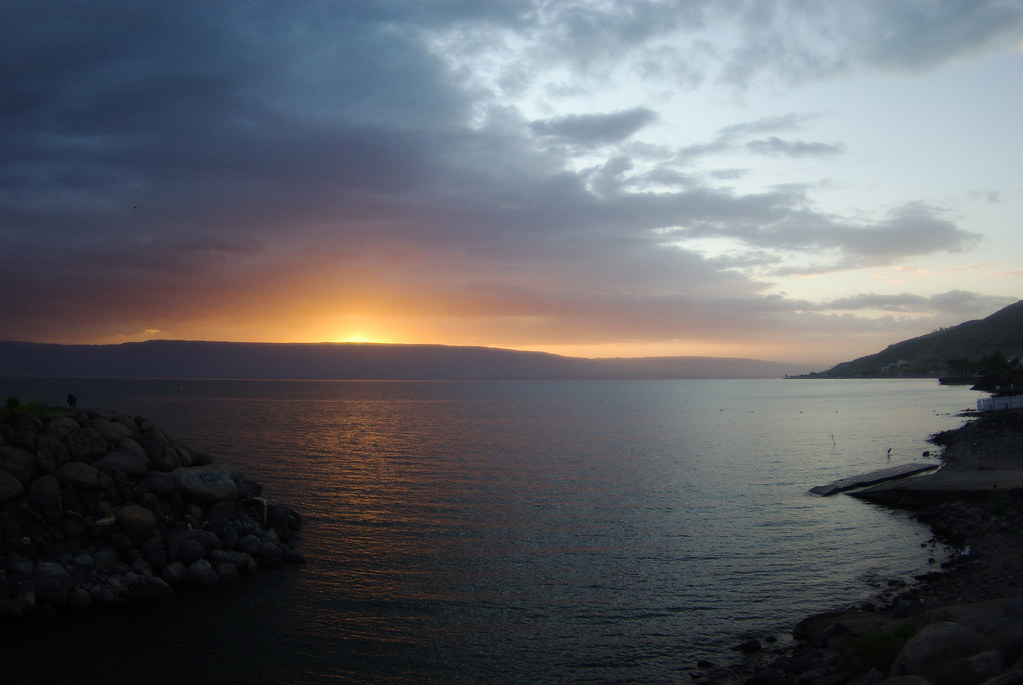 Sea of Tiberias- The encounter with Jesus takes place in the very 'ordinariness' of daily life, this too is the place of grace for us, the 'ordinariness' of daily life.