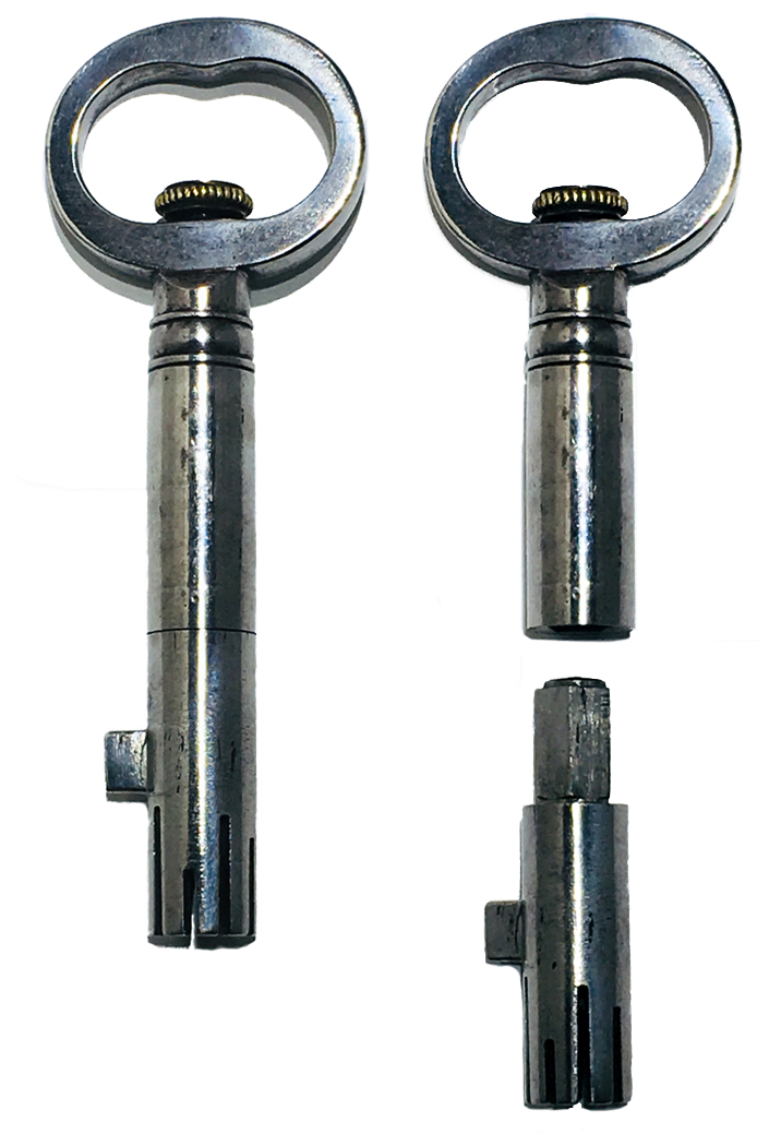 130. Bramah Interchangeable Bit Key. Sold: $344