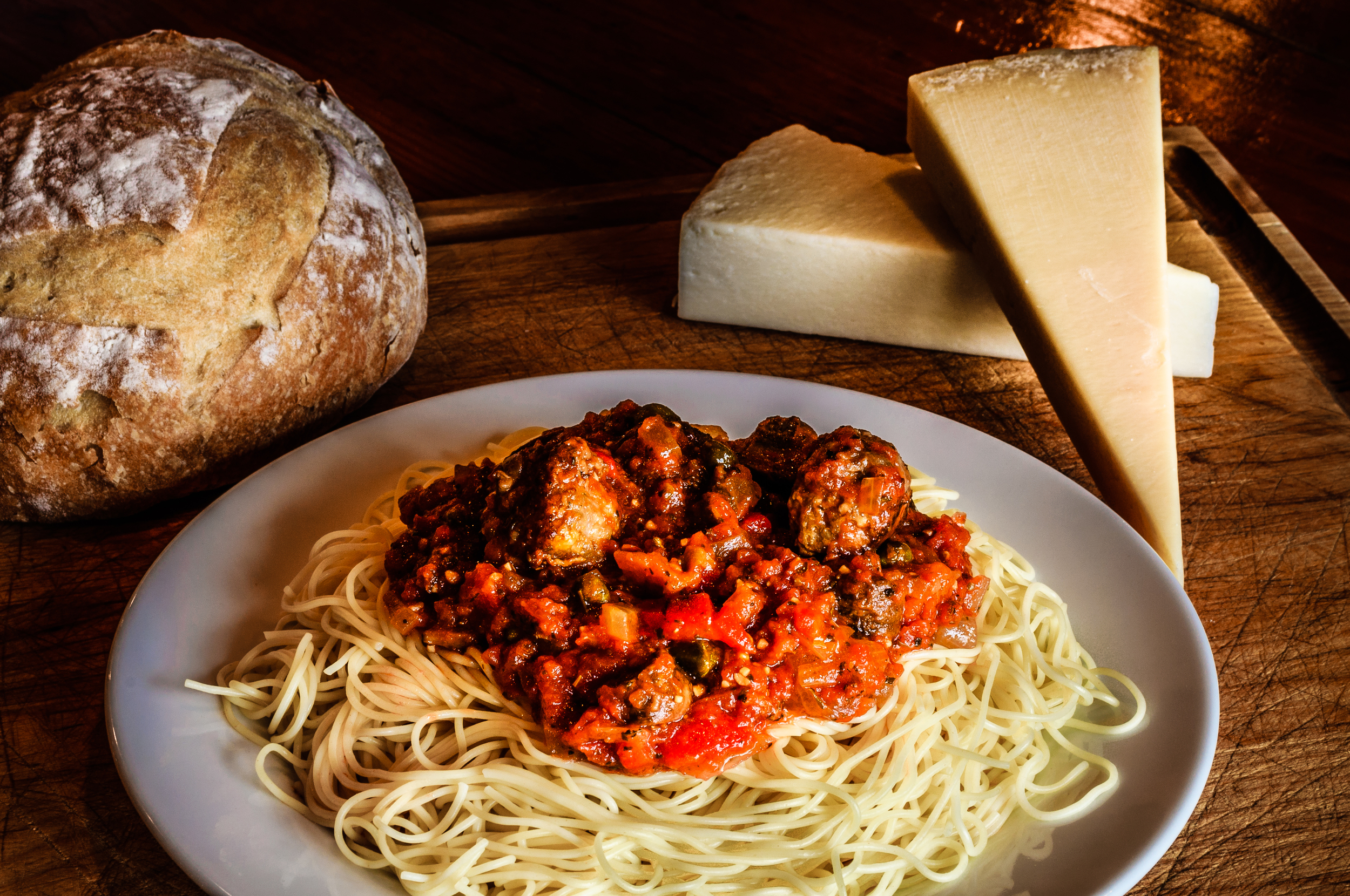 This recipe for marinara sauce is a family favorite.