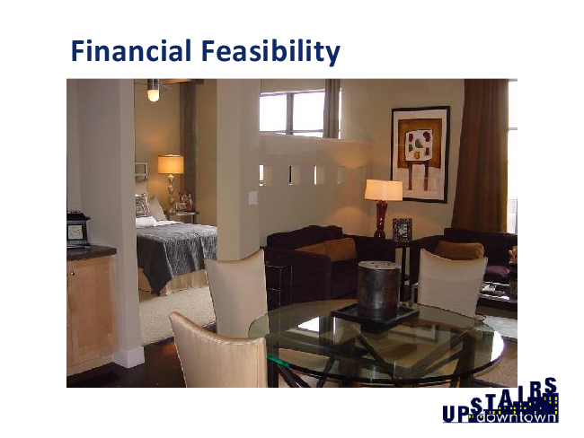 Section 4 - Upstairs Downtown Financial Feasibility - Main Street Now 2018