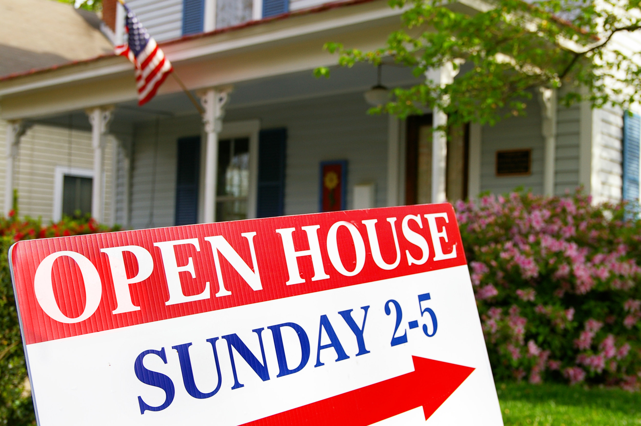 MARKETING YOUR HOME WITH AN OPEN HOUSE -