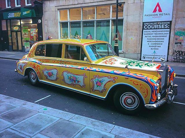 John Lennon inspired Rolls Royce
