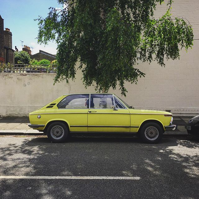 When the sun comes out, so the do the classics. 1972 BMW 2002 Touring Tii. ------------------------------------- #loveclassics #weloveclassics ------------------------------------- #classic #classiccar #oldcar #vintage #drivetastefully #vintage #drivetastefully #rare #triplets #vintagecar #bmw #munichlegend #bimmer #2000tii #2002