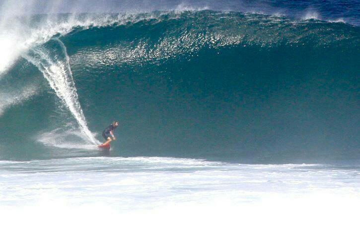 "Chris ""Hollywood"" Hoy at Uluwatu"