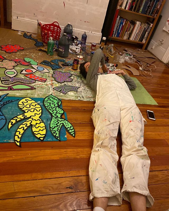 La artista en repose @christianjoycostumes