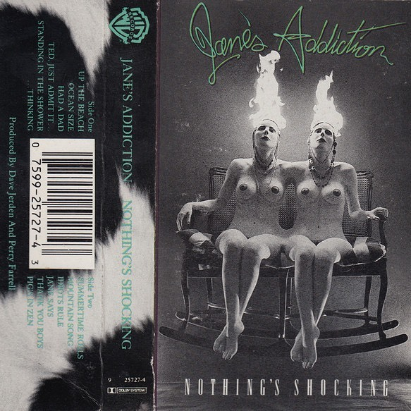 Ten albums in ten days that had an impact on you. No explanation. Day 2: Jane's Addiction- Nothing's Shocking.  I could talk about this one for awhile but instead I tag @fieldrecord to see what he's got!