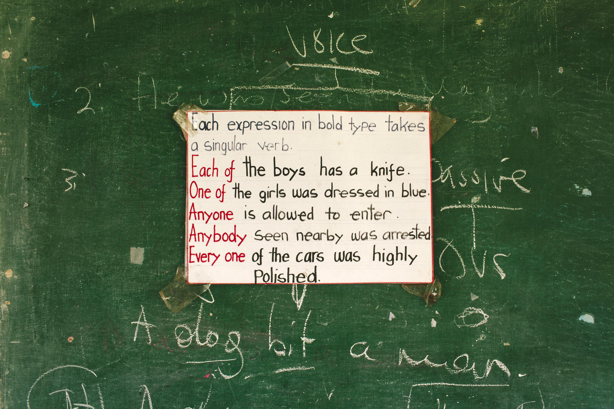 Grammar poster, lecture theatre.jpg