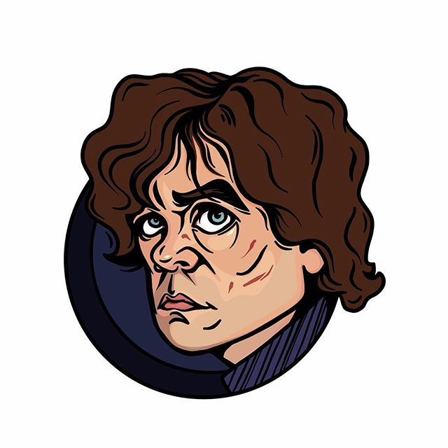 I don't think I remember anything about Game of Thrones. Is this guy even still alive? . . . . .  #GOT #gameofthrones #tyrionlannister #winteriscoming #drawing #illustration #portraitdrawing #artistsoninsta