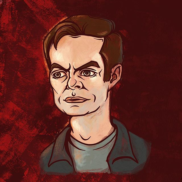 I've been having fun noodling with all of the brushes and exciting features in @Adobe's #ProjectGemini. Here's a portrait I did of Bill Hader's character in Barry on HBO. We just finished Season 2! . . . . .  #BarryHBO #billhader #adobegemini #digitalpainting #ipadartist #portraitpainting