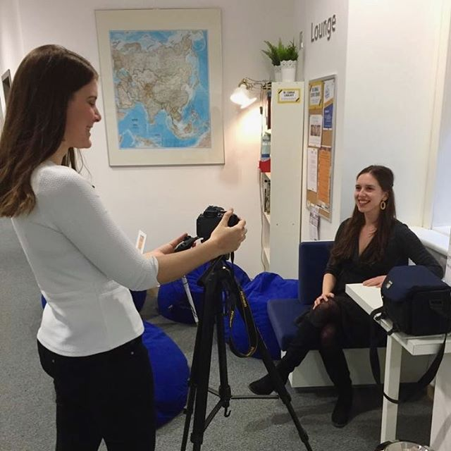 Today our Secretary General, Patricia Karrer, was interviewed by the Marketing Department at Webster Vienna! • During the interview, Patricia gave an overview of WebMUN, upcoming events and our plans for this year's conference. The interview will be part of Webster Vienna's monthly updates video that will be released at the end of this month. Stay tuned! . . . #webmun2019 #revolutionizingwebmuns  #webstervienna #weareallwebster #conference #internationalrelations #modelun #websteruniversity #webster