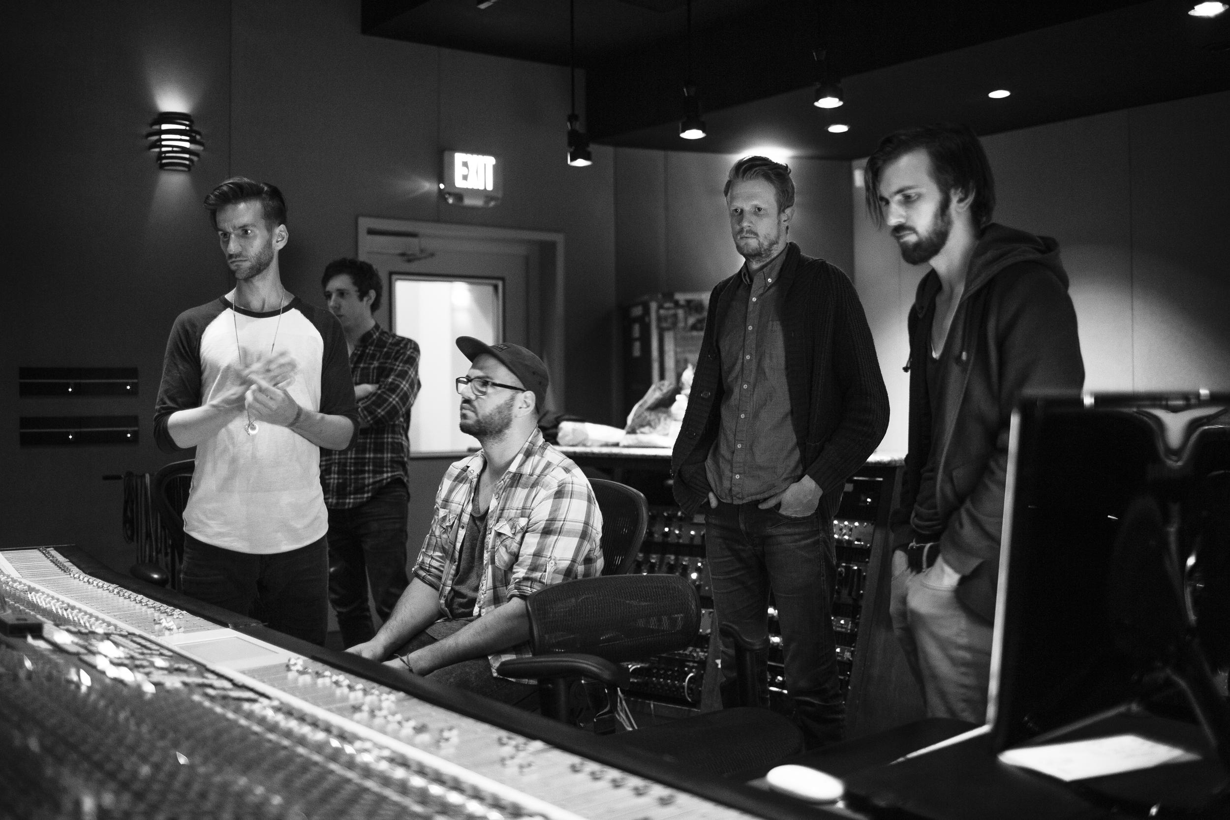 left to right:  Jonathan Thomas, Fiorentino, Dan, Ryan, Cam