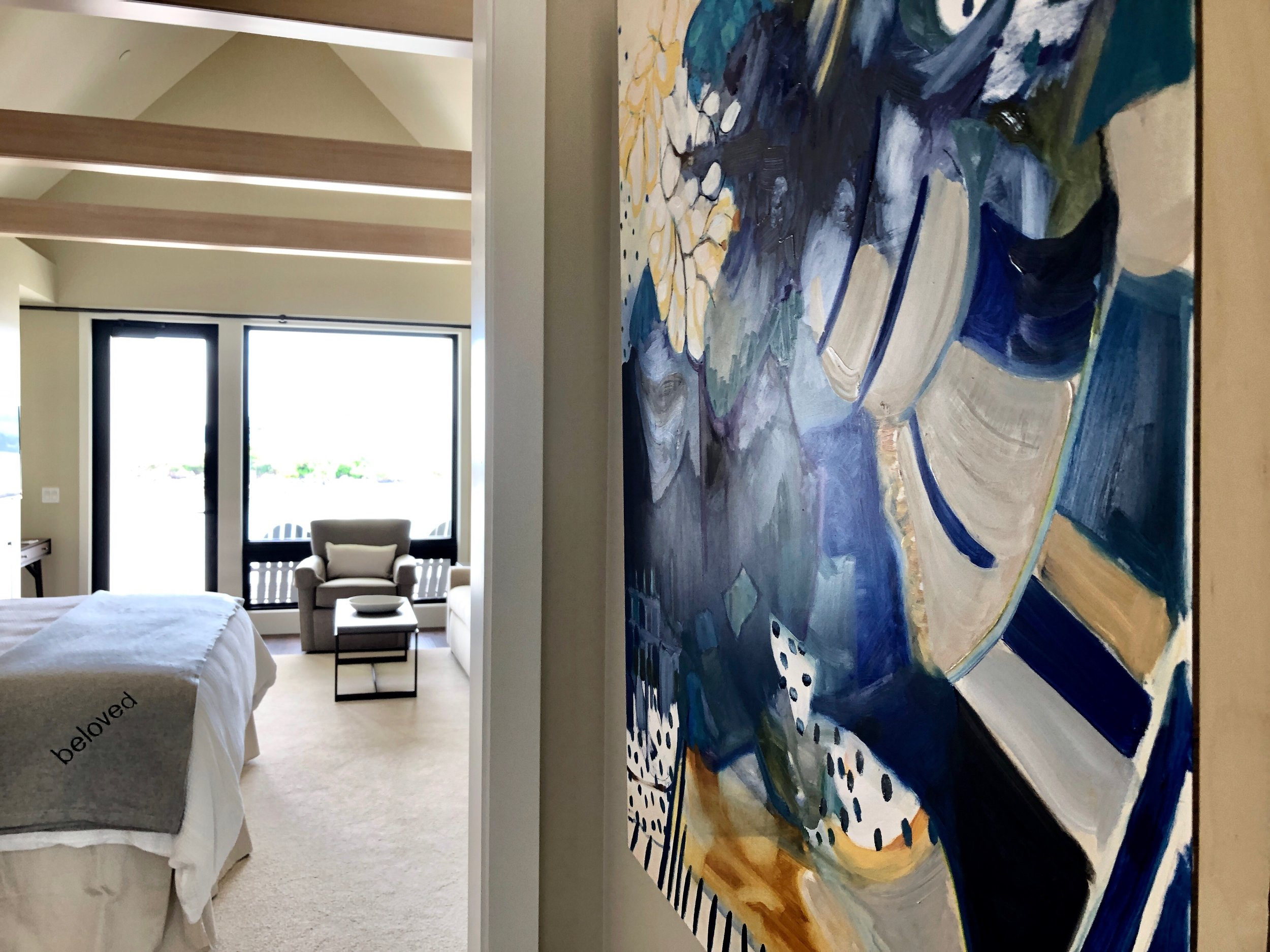 Original Oil Paintings in All Rooms