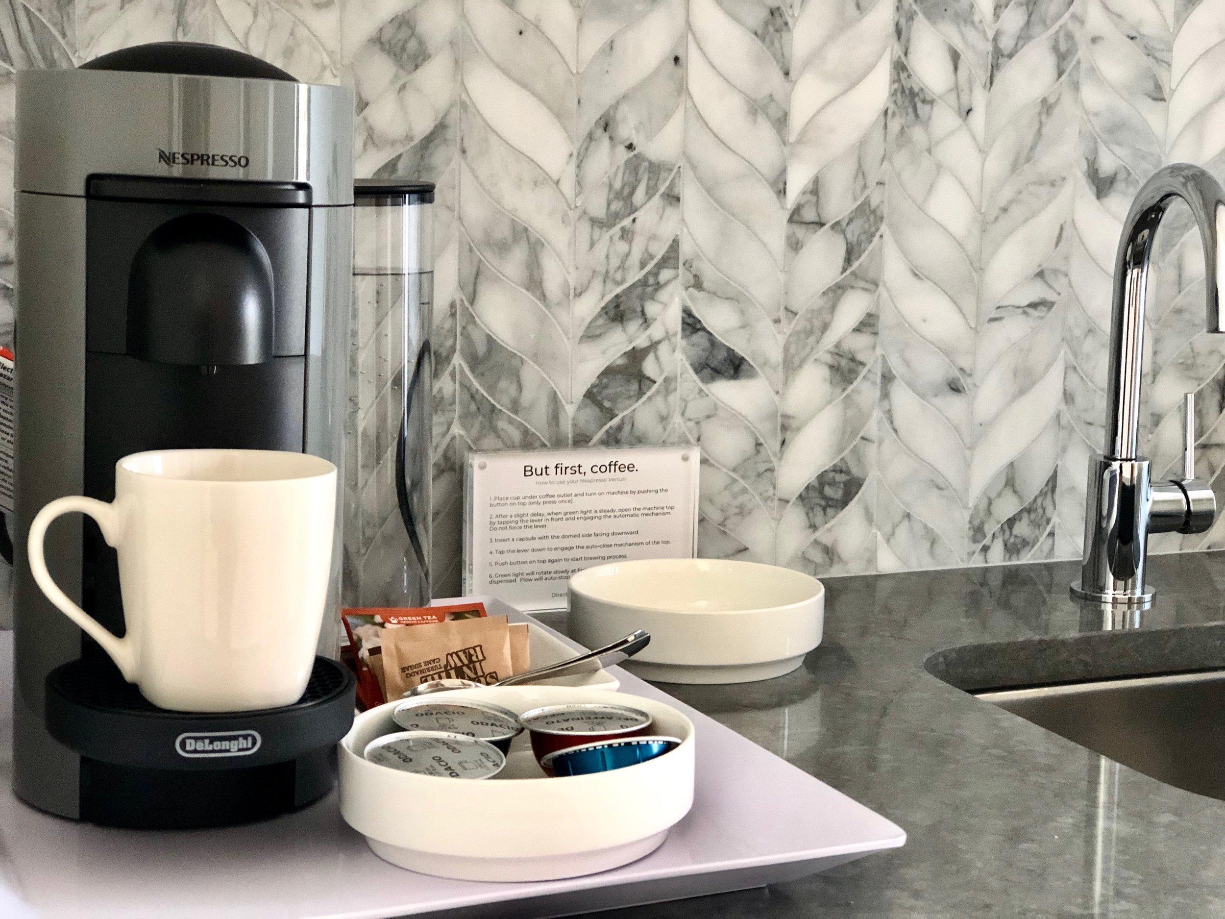 Nespresso Coffee Stations