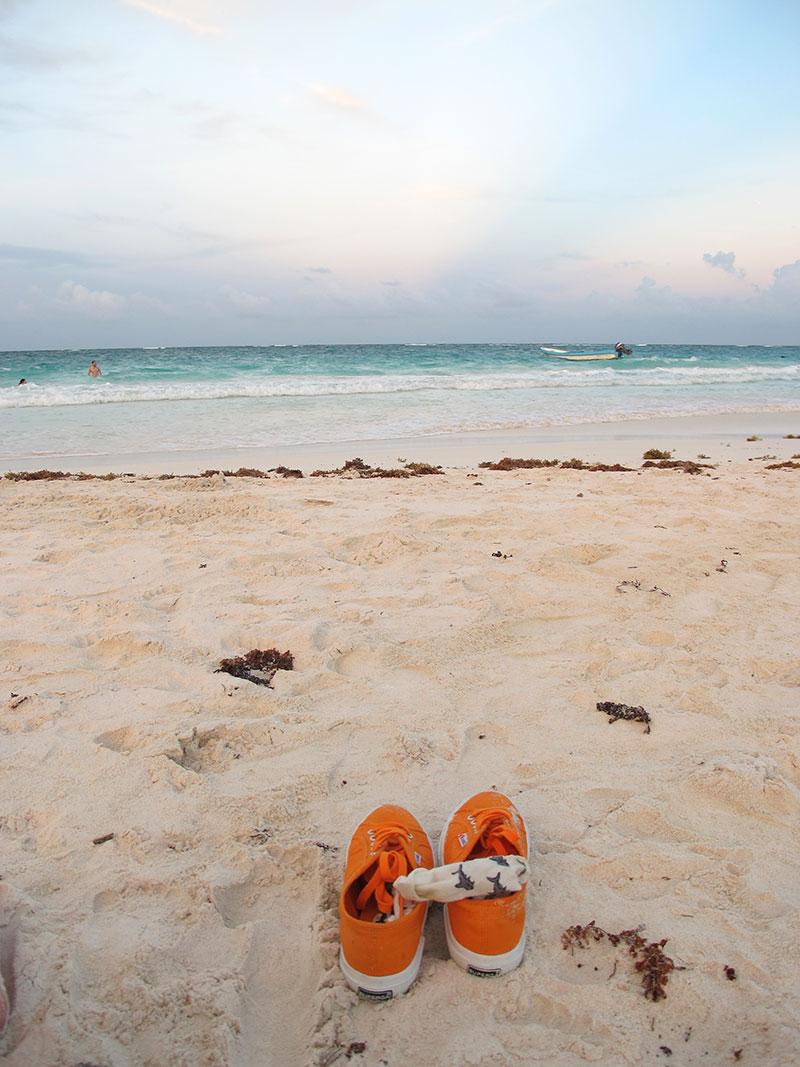 Tulum Ruins Beach Atmosphere
