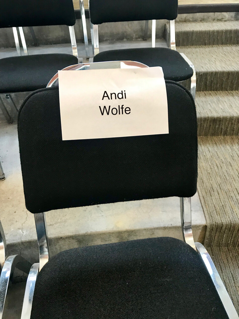 Reserved Seating