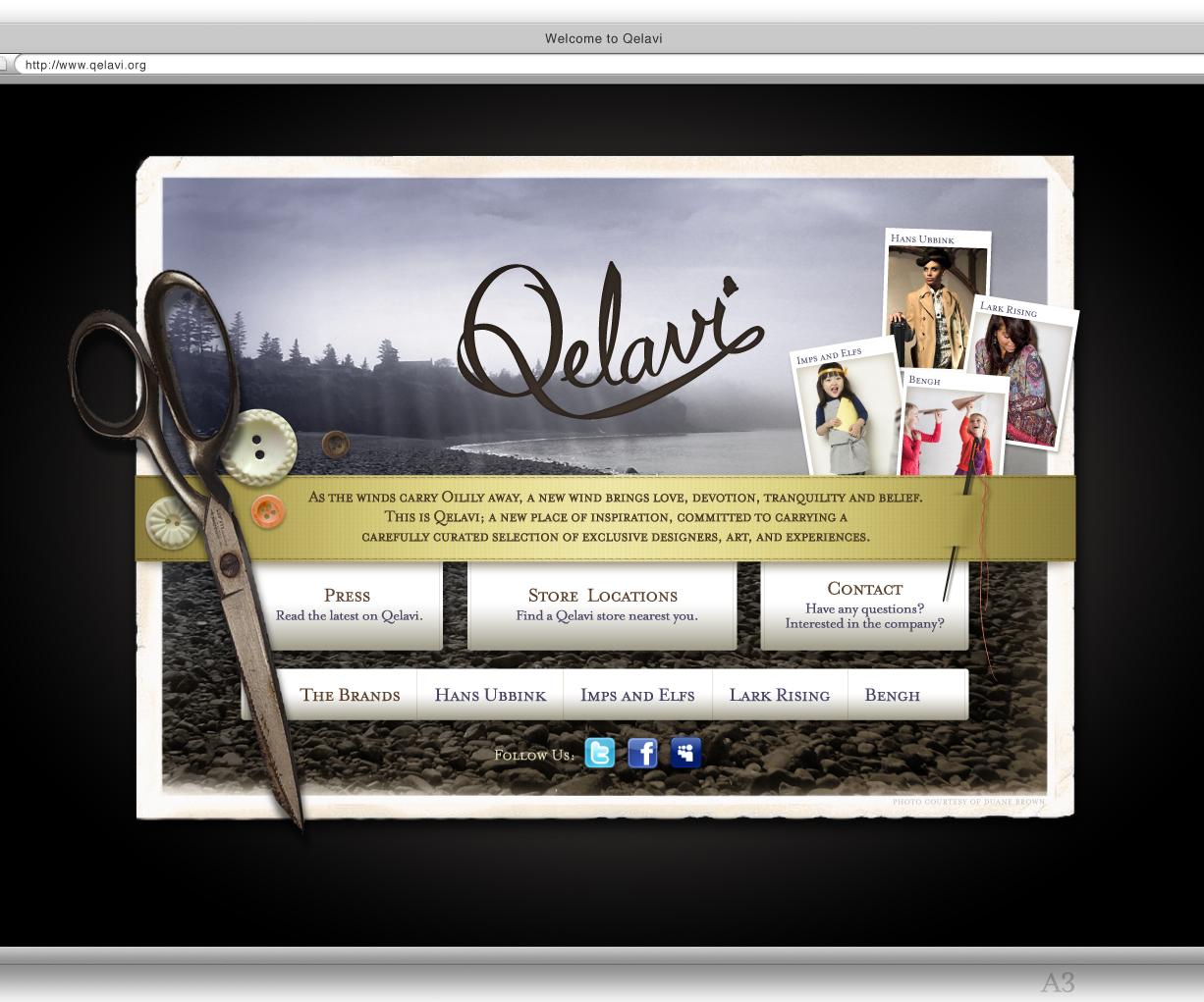 Website / Homepage