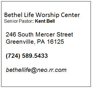 Bethel Life Worship Center