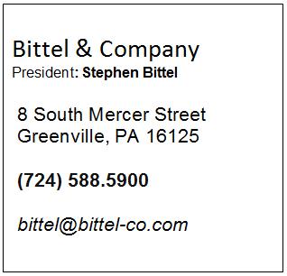 Bittel & Company