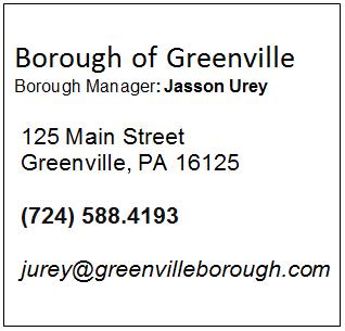 Borough of Greenville