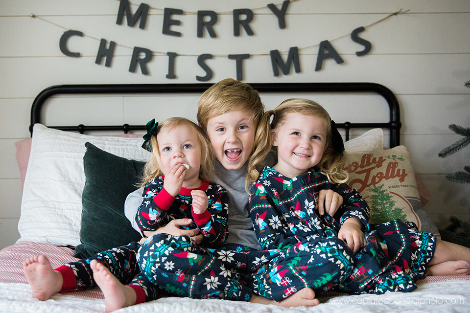 4 central iowa family photographer huxley desmoines ankeny captured by heidi hicks yume cookies christmas minis pajamas santa milk cookies.jpg