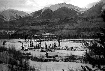 Upper Fraser Ranch original homestead, circa 1930