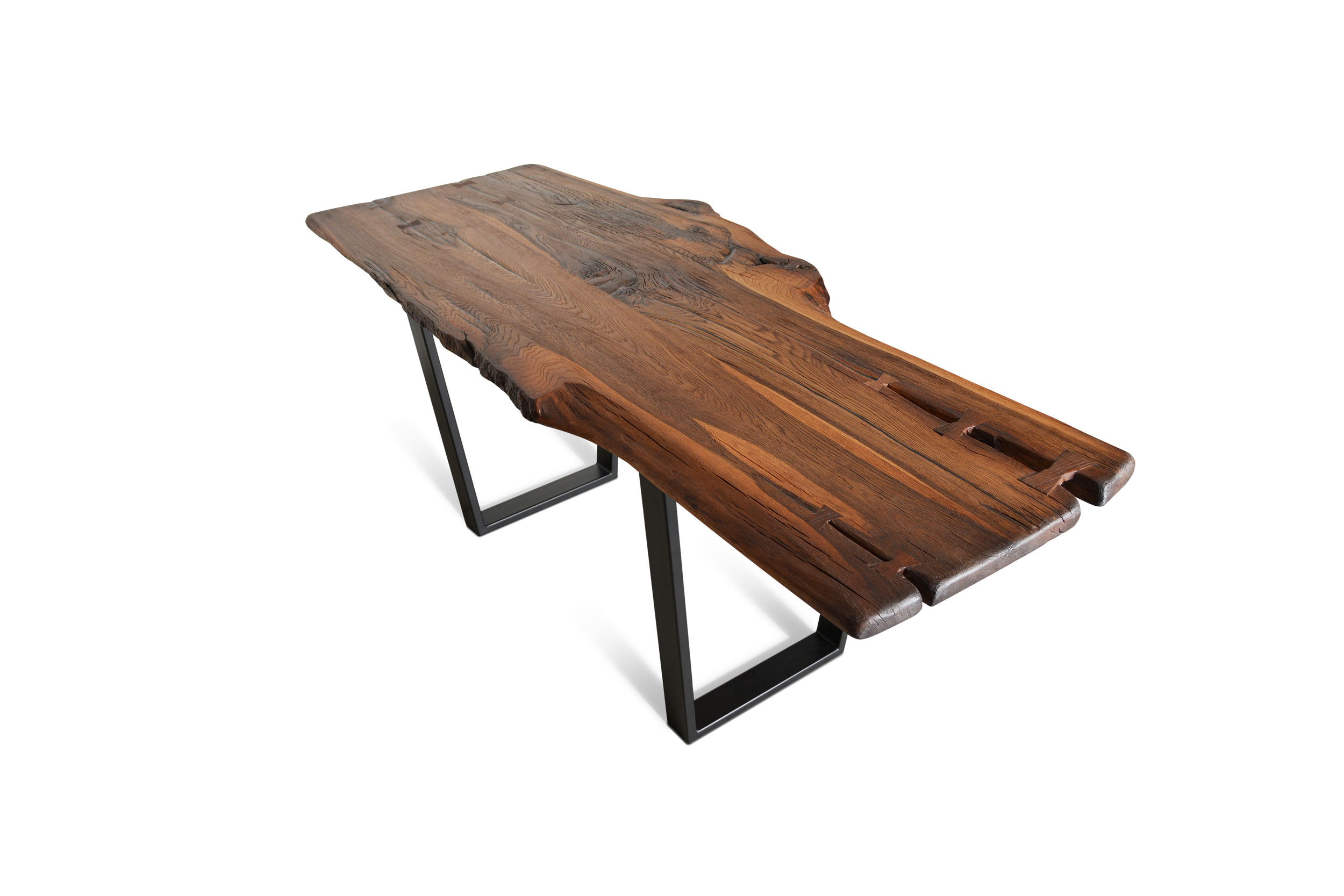 Etz & Steel Brown Beauty Live Edge Table Black Base 1.jpg