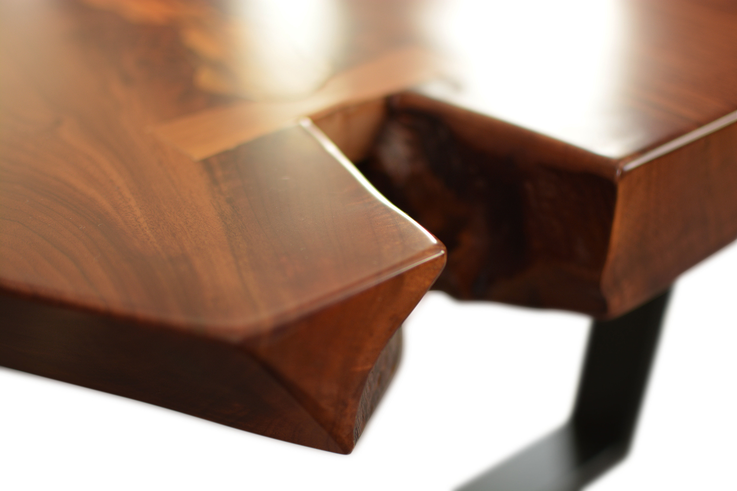 Etz & Steel Mocha Live Edge Table Close Up 1.JPG
