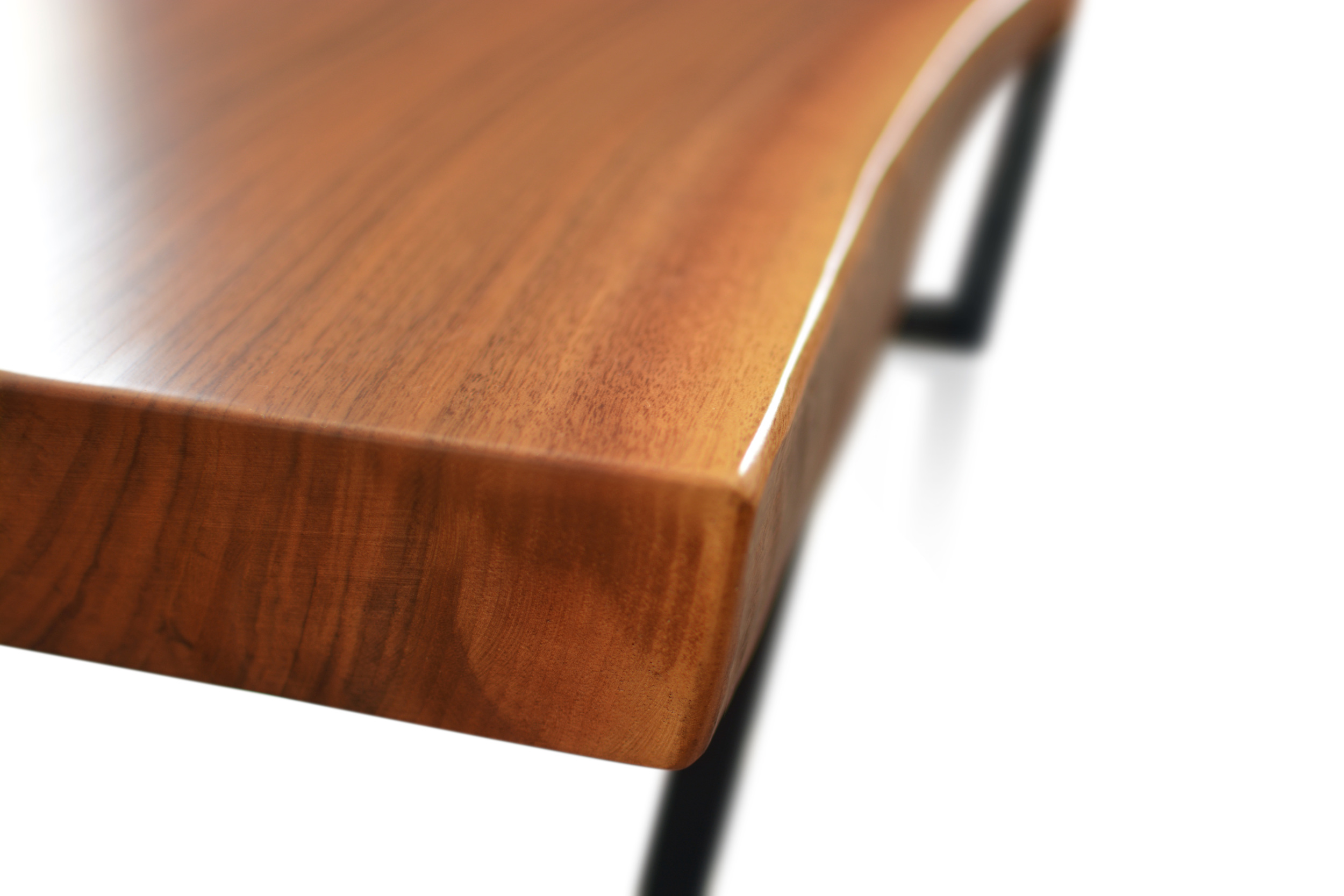 Etz & Steel Mocha Live Edge Table Close Up 3.JPG