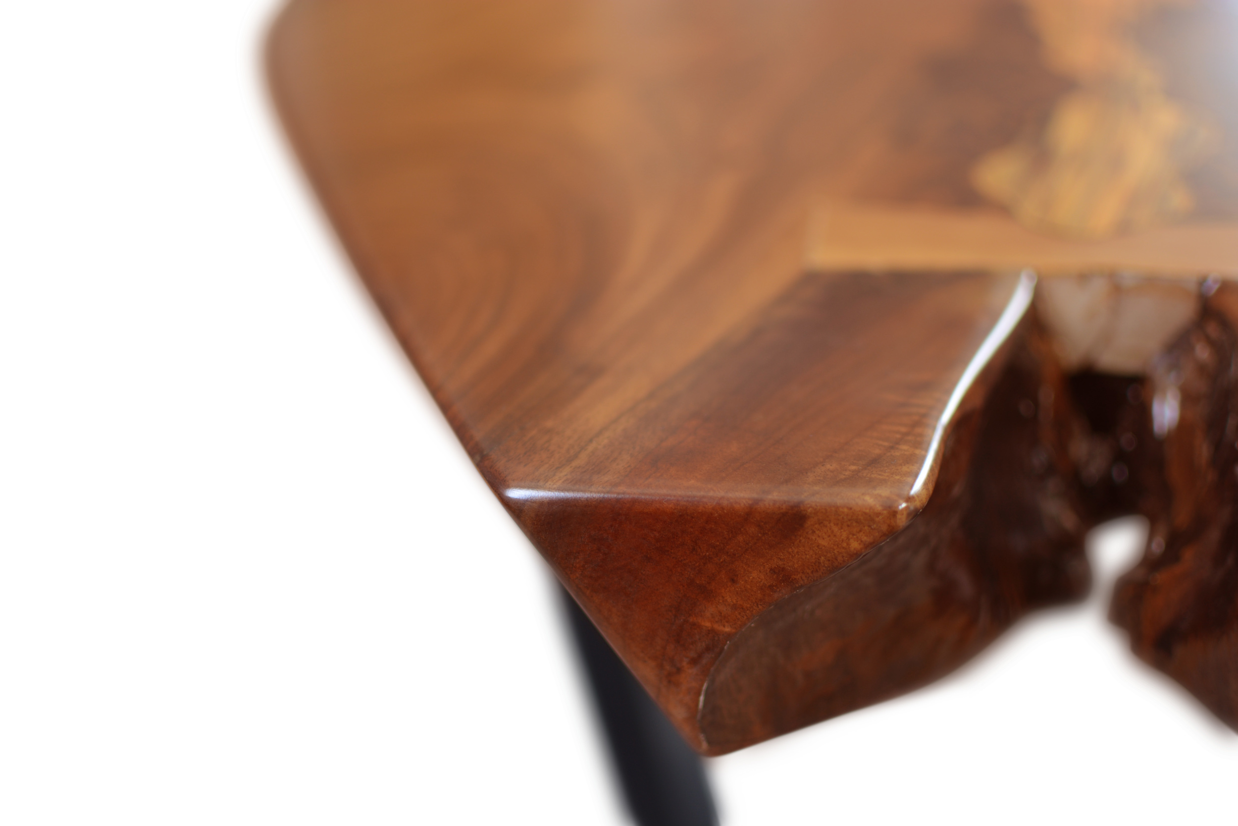 Etz & Steel Mocha Live Edge Table Close Up 5.JPG