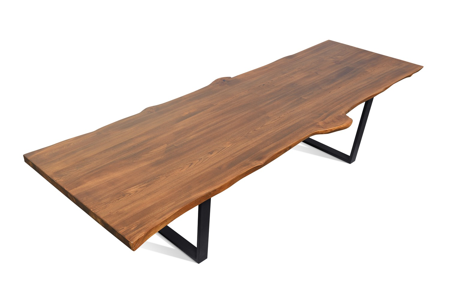 Etz & Steel Live Edge Cognac Table Black Base 2.jpg