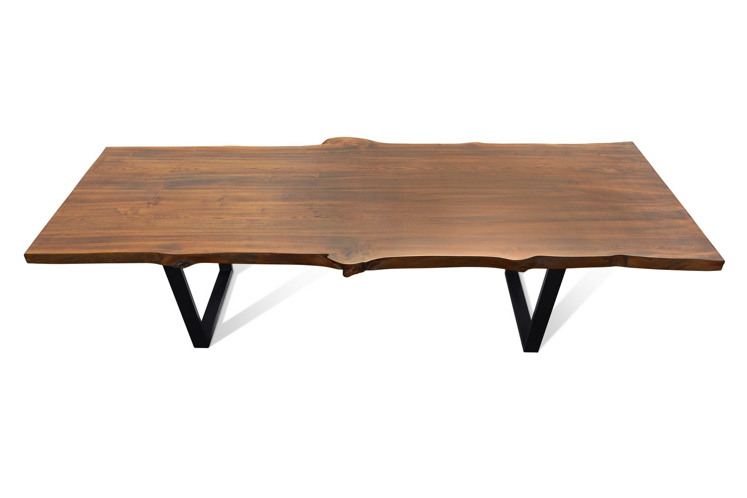Etz & Steel Live Edge Cognac Table Black Base 5.jpg