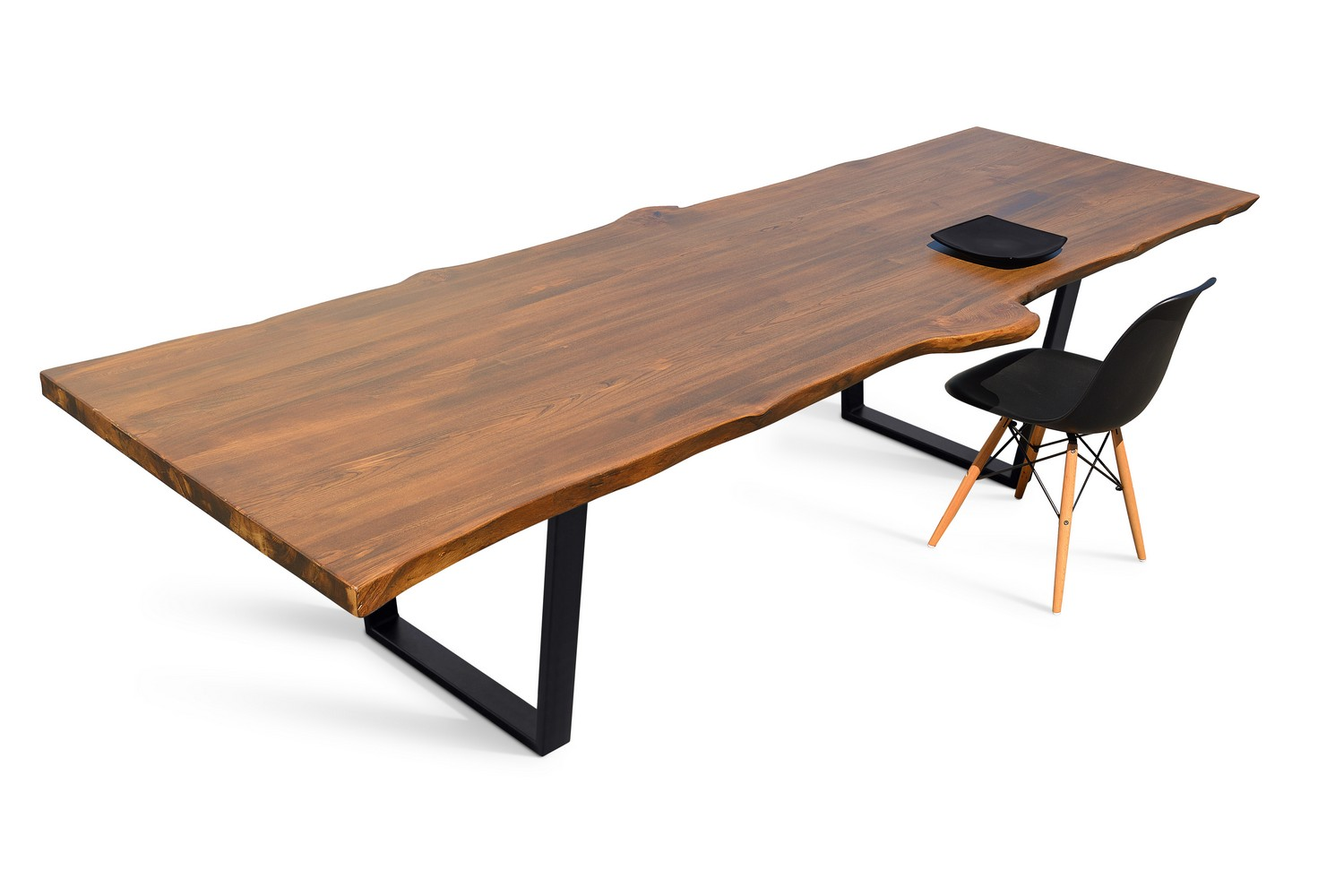 Etz & Steel Live Edge Cognac Table Black Base 9.jpg