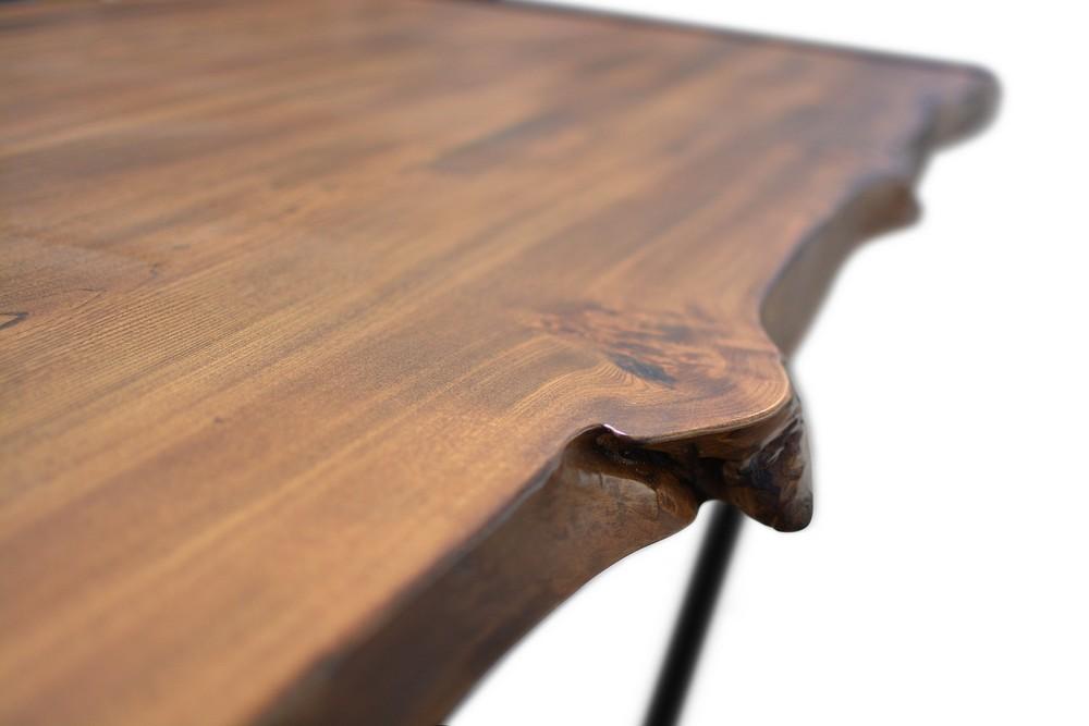 Etz & Steel Live Edge Cognac Table Close Up 11.jpg