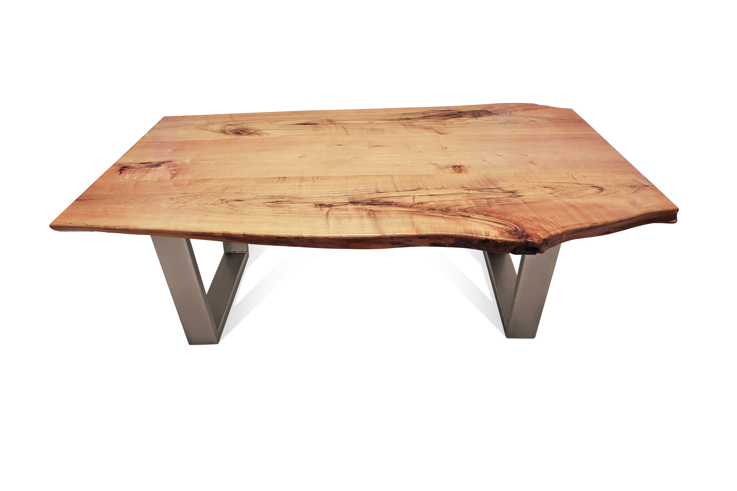 Etz & Steel Kona Live Edge Table Textured Bronze Base 1.jpg